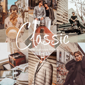 Classic Mobile Lightroom Preset