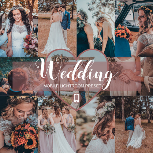 Wedding Mobile Lightroom Preset