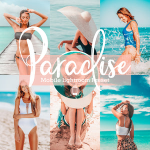 Paradise Mobile Lightroom Preset