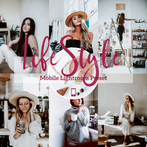 Lifestyle Mobile Lightroom Preset