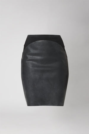 Cotton and Latex Skirt