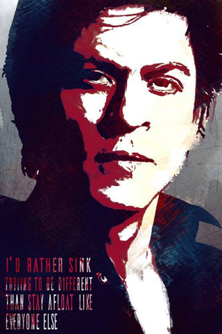 Be Different- SRK Poster