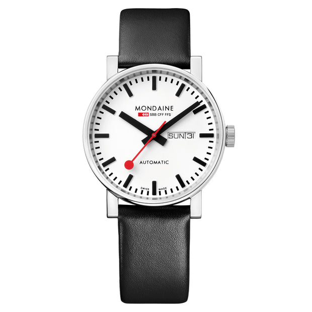 Mondaine Official Swiss Railways Evo Big Automatic Watch | Mondaine Australia