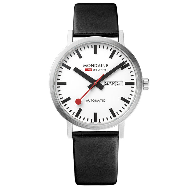 Mondaine Official Swiss Railways Classic Automatic DayDate Watch | Mondaine Australia