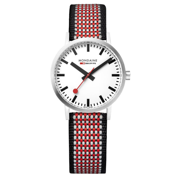 Mondaine Official Swiss Railways Classic 75 Years Anniversary Special Watch SET | Mondaine Australia