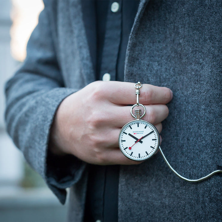 Pocket Watch | Silver Pocket Watch | Mondaine Australia