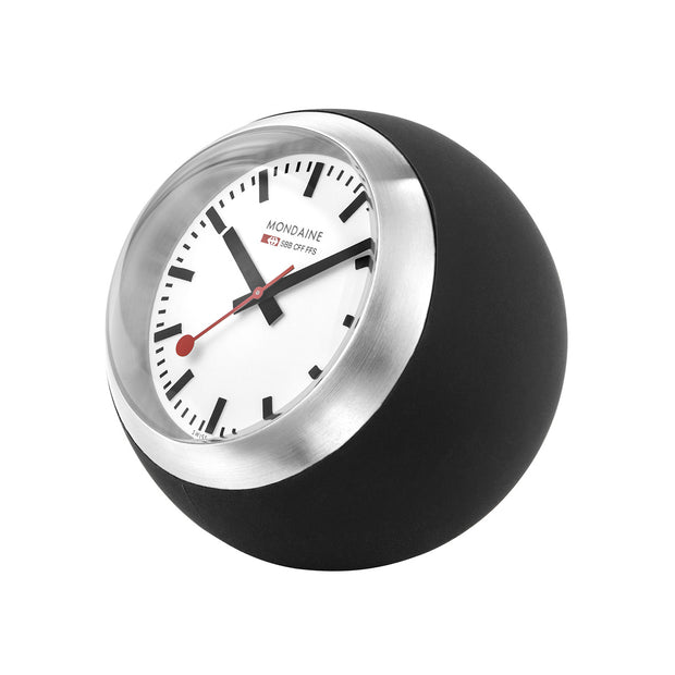 Mondaine Official Desk Clock Globe