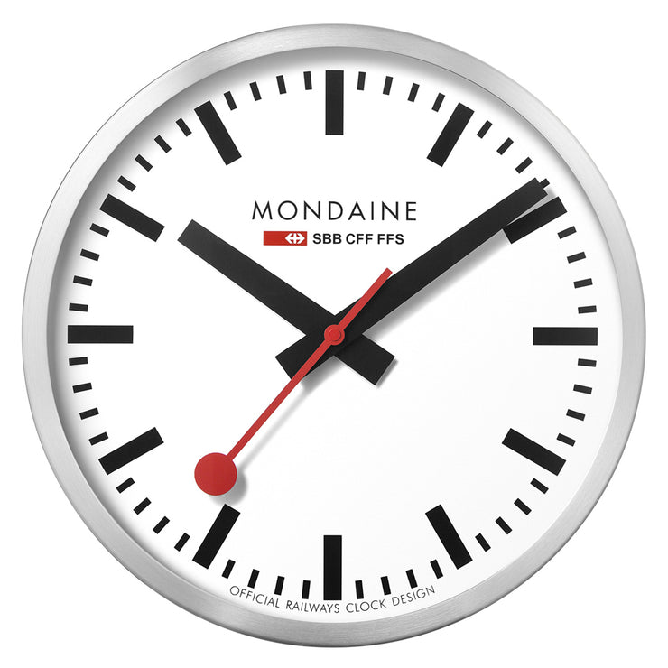 Mondaine Official Swiss Railways Wall Clock | Mondaine Australia