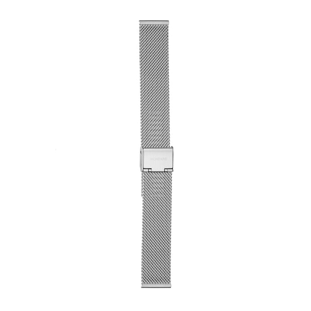 Mondaine Mesh Bracelet Watch Band Brushed