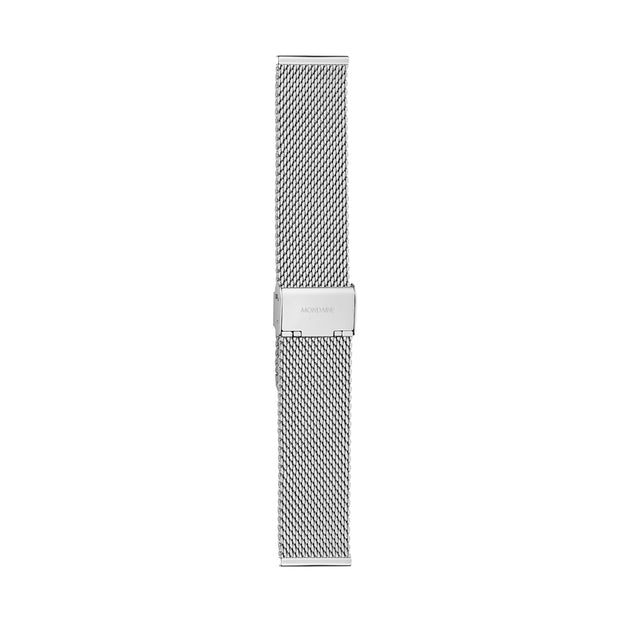 Mondaine Mesh Bracelet Watch Band Polished | Mondaine Australia