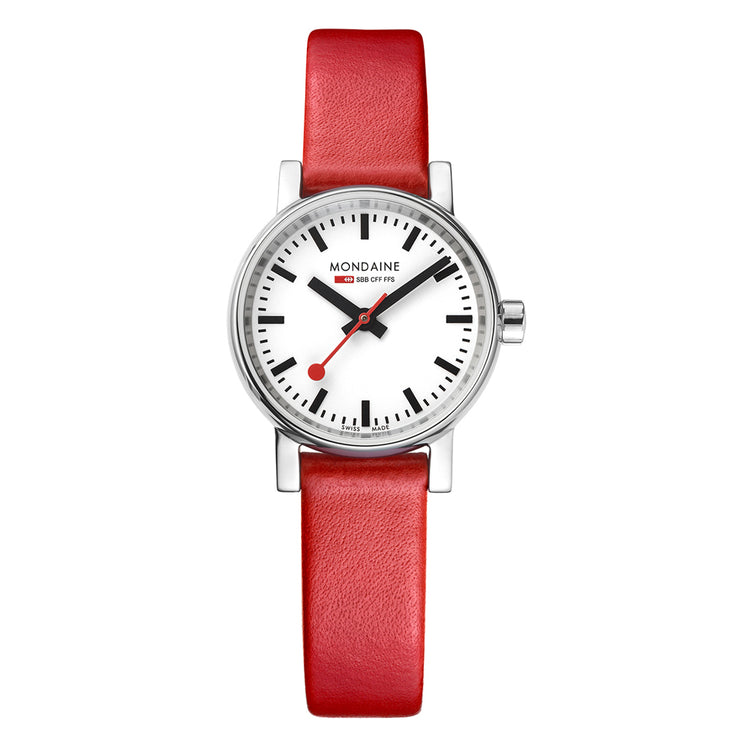 Mondaine Official Swiss Railways evo2 Petite Watch | Mondaine Australia