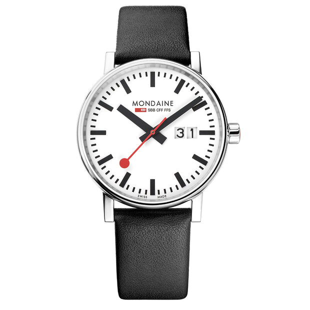 Mondaine Official Swiss Railways evo2 Big Date