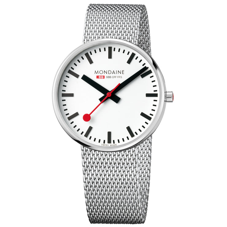 Mondaine Official Swiss Railways Giant BackLight Watch | Mondaine Australia