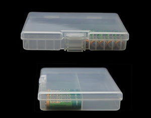 Whizzotech AAA Battery Storage Case Battery Holder Organizer Box Holds for Lot of 48 AAA Batteries BL06