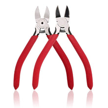 Load image into Gallery viewer, Whizzotech Wire Cutter Diagonal Cutting Pliers Micro Flush cut Side cutters, 5 Inch