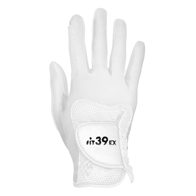 FiT39 Golf Glove - Right Hand Classic Style (White Base)