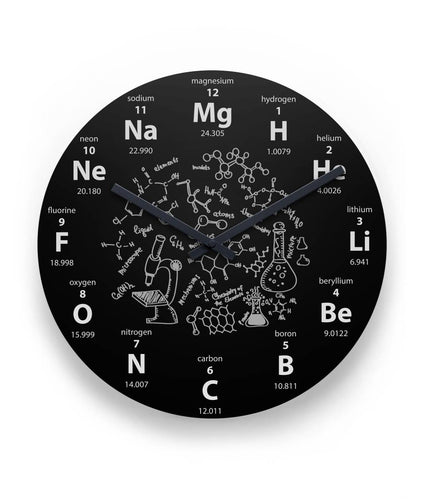 Periodic Chemistry Wall Clock 11