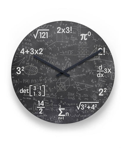 Mathematics Wall Clock 11