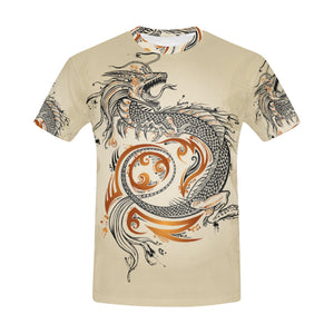 Japan Dragon All-Over Print T-shirt