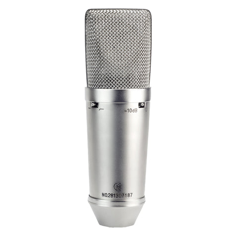 Nady SCM-1000 Studio Condenser Microphone with 3 Polar Patterns
