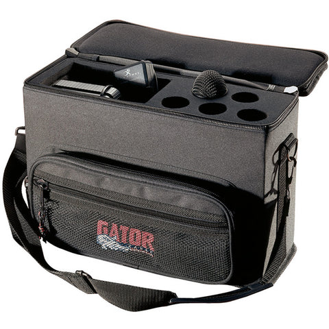 Gator GM-5W Wired/Wireless Microphone Bag for 5 Mics