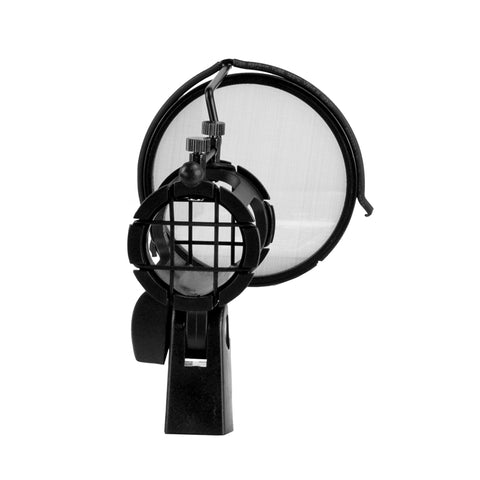 Image of Nady SSPF-3 Microphone Spider Shockmount w/Integrated Pop Filter