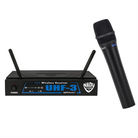 Nady UHF-3 Wireless Handheld Microphone System