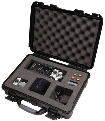 Image of Gator Cases GU-ZOOMH6-WP Waterproof Case for Zoom H6 Recorder