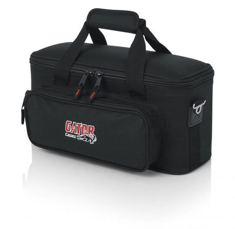 Image of Gator Cases GM-12B Padded Bag for 12 Microphones, Cables, and Accessories