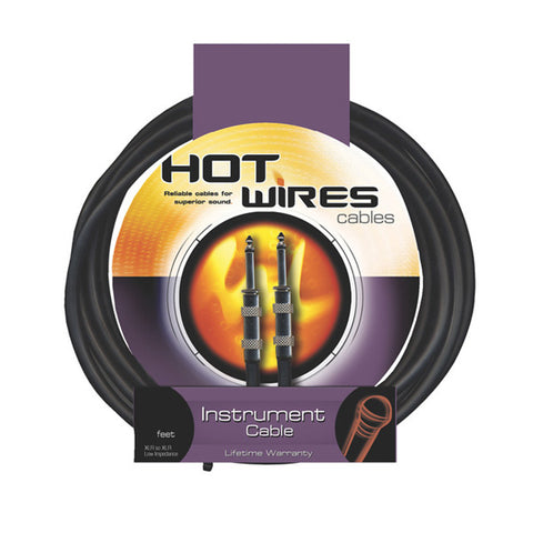 Hot Wires IC-10 Guitar/Instrument Cable 10 feet