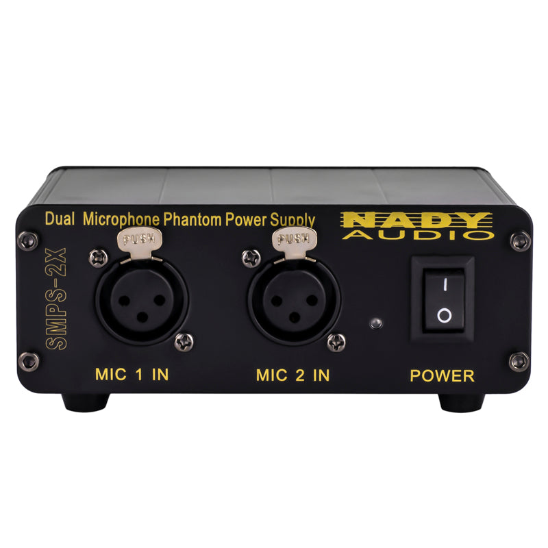 Nady SMPS-2X Dual Microphone Phantom Power Supply