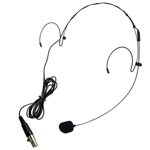 Nady HM-20U Headworn Uni-directional Microphone - Mini-XLR Black