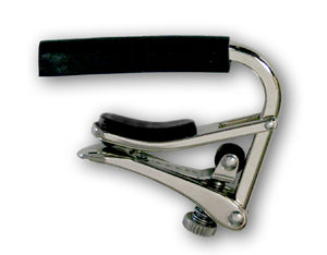 Shubb Capos C1 Standard Polished Nickel Steel String Guitar Capo