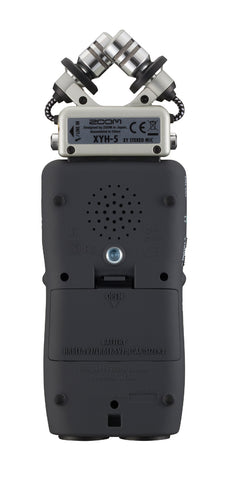 Zoom H5 24-Bit 96kHz WAV/MP3 Handy Audio Recorder w/USB Computer Interface