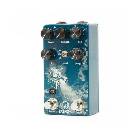 Image of Walrus Audio Fathom Multi-Function Reverb Pedal