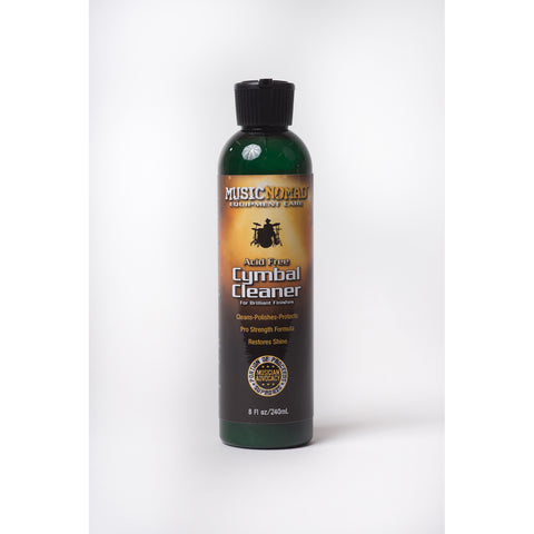 Music Nomad MN111 Cymbal Cleaner - Cleans, Polishes & Protects