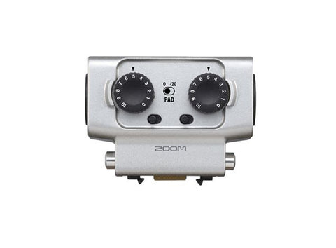 Zoom EXH-6 XLR/TRS 2-Channel Microphone/Line Input Capsule for H6 Audio Recorder
