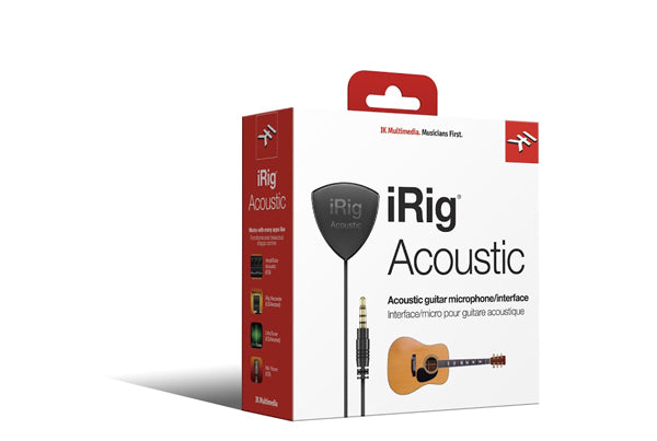 IK Multimedia iRig Acoustic Microphone/Interface for Acoustic Guitars