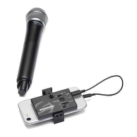 Samson Go Mic Mobile Handheld Wireless Microphone System for Video