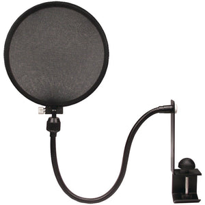 Nady SPF-1 Gooseneck Microphone Pop Filter with Clamp