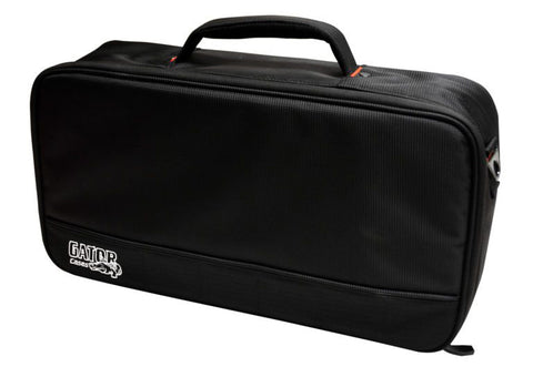 Gator Cases GPB-LAK-1 Small Alluminum Pedal Board w/Carry Bag - Black