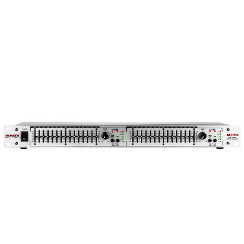 Image of Nady GEQ-215 Graphic Equalizer