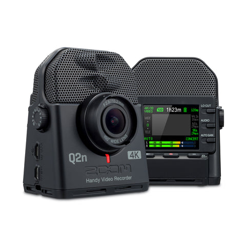 Zoom Q2n-4K Portable 4K Video Recorder with 24bit 96kHz Audio