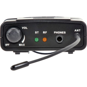 Galaxy Audio AS-950R In-Ear Monitor Receiver for AS-950 - N 518-542 MHz