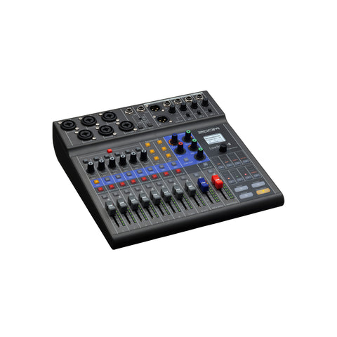 Image of Zoom LiveTrak L-8 8-Channel Digital Audio Mixer and Recorder