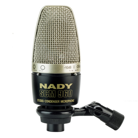 Nady SCM-960 Studio Condenser Microphone with Selectable Pickup Pattern