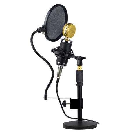 Image of Nady SPF-1 Gooseneck Microphone Pop Filter with Clamp