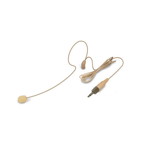 Nady HM-35 3.5mm Single Headset Microphone for Wireless - Beige