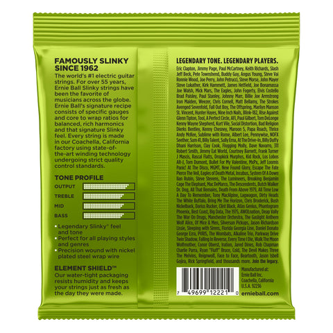 Image of Ernie Ball Regular Slinky Nickel Wound Electric Guitar Strings 10-46
