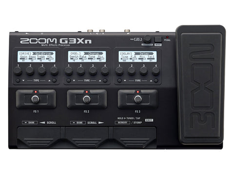 Image of Zoom G3XN Multi-Effects Guitar Pedal with Expression